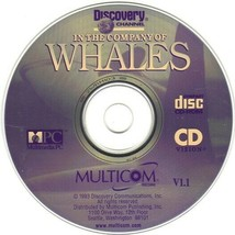Discovery Channel: In the Company of Whales CD-ROM for Windows -NEW CD in SLEEVE - $7.98