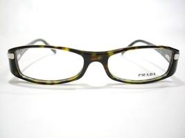 Prada Eyeglasses VPR 14H Brown 2AU-1O1 Authentic 51-16-135 - $84.11