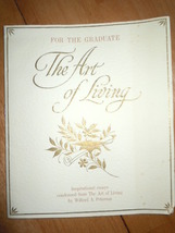 Vintage For The Graduate The Art of Living Hallmark Card Booklet 1961 - $3.99