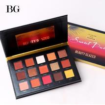 BEAUTY GLAZED 15 Color Eyeshadow Pallete Make up Long-lasting Eye Shadow... - $11.96