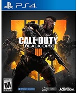 Call of Duty: Black Ops 4 - PlayStation 4 Standard Edition [video game] - $20.37