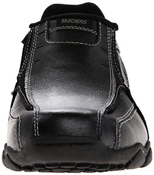 Skechers USA Porter Compen Men's Slip On 7.5 D(M) US Brown mX1gN
