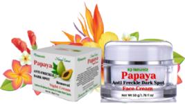 Papaya Anti Freckle Dark Spot Age Spot Scar Removal Fairness Cream Light... - $49.99