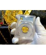 "COLOMBIA 2 ESCUDOS 1628-65 ""PHILIP IV"" PCGS 61 PIRATE GOLD COINS TREASUR... - $6,500.00"