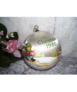 HALLMARK ORNAMENT CHRISTMAS 1980 FOR TEACHER SATIN BALL - $16.82