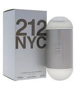 212 By Carolina Herrera For Women. Eau De Toilette Spray 2 Ounces - $58.25