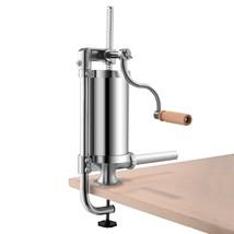 Home Kitchen 1.5L Stainless Steel Vertical Sausage Stuffer Maker - $57.94