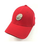 VINTAGE Reebok Allen Iverson FlexFit Hat I3 LIMITED EDITION Red Baseball... - $32.29