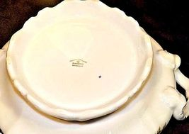 Bavarian German China Set of Johann Haviland (No 18 Tureen Bowl AB 55-G Vintage image 3