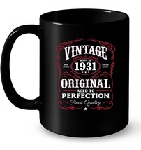 Vintage Made In 1931 87th Birthday Gift Gift Coffee Mug - $13.99+