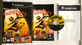 ☆ FIFA Street 2 (Nintendo GameCube 2006) Complete In Box Game Manual Wor... - $16.99