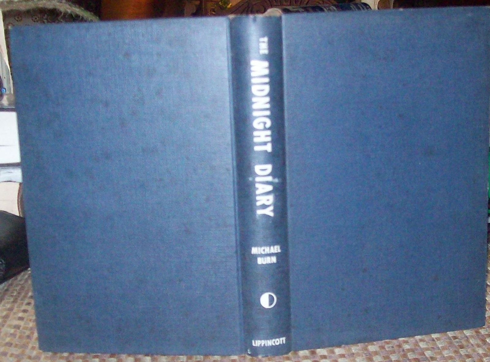 The Midnight Diary by Michael Burn 1953 HBDJ Life Behind the Iron Curtain
