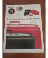 Vintage 1965 Samsonite Life Magazine Ad - $8.95