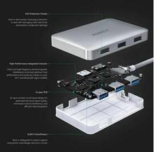 CB-C60 6 In 1 USB Type C Hub USB 3.0, HDMI Port 4K and 60W USB C PD Port image 2