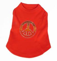 Rasta Peace  Red  Dog Tank Shirt Top  Tee T-Shirt - $12.99