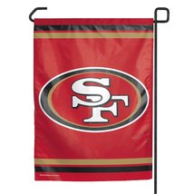 NFL San Francisco 49Ers Garden Flag - $9.79