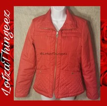 Michael Kors S/P RED Quilted Lightweight Jacket - $69.29