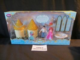 Disney Store Authentic USA Princess Ariel Little Mermaid Mini Castle Play set - $31.78
