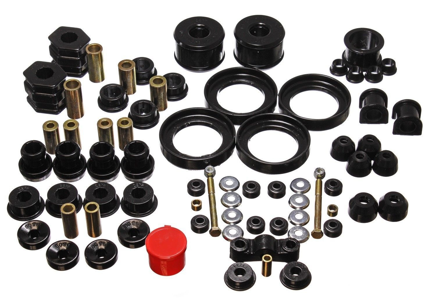 Energy Suspension Bushing KitHyper-Flex System 16.18110G-96-00 Honda Civic Black - $175.00