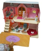Mimi World Let's Play in a Two story House Dollhouse Doll Role Play Toy Set image 4