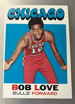1971-72 Topps #45 Bob Love Chicago Bulls Basketball Card - $1.49