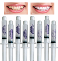 8 Syringes 10% for SENSITIVE tooth - Teeth Whitening Gel At Home System - USA ! - $11.45