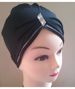 Crystal Tube Cap Hijab Scarf CrissCross Diamant... - $5.37