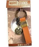 Marvel Studios Japan Avengers Iron Man Metal Key Chain Key Ring - $12.86
