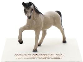 Hagen-Renaker Miniature Ceramic Horse Figurine Tiny Gray Mare image 1