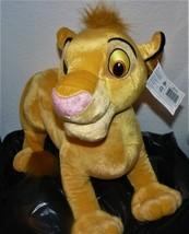 "Jumbo-Size 17"" SIMBA 2002 Disney Store Lion King Plush 076930102510 - $31.65"