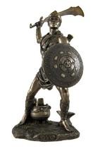 Veronese Bronzed Oggun God of War, Iron and Hunting Statue - $46.43