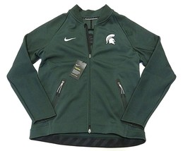 1df34a5446910 NWT NIKE NCAA Michigan State Spartans Men  39 s Full Zip Up Jacket Adult