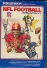 Intellivision NFL Football [Misc. Supplies] [Jan 01, 1979] Intellivision