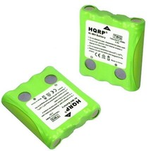 2-Pack HQRP Battery for Cobra FRS70 FRS80 FRS85 FRS100 FRS104 FRS105 FRS110 - $16.95