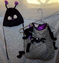 Spider Halloween Costume Cute Childrens Childs up to 24 Mos Toddler Fun World - $19.16