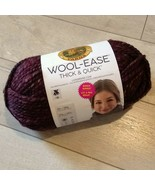 LION BRAND WOOL-EASE THICK & QUICK YARN ~ SPICED APPLE ~ NEW ~ BONUS BUNDLE - $17.99