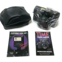 NEW Sealed Vitnage Time Magazine Black 35mm Camera - $24.70
