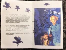 "Tippi Hedren AUTOGRAPHED ""The Birds"" Promo Brochure - $24.50"