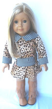 All My American Girl Doll Clothes Cheap Print Dress Tall Fringed BOOTS C... - $22.76
