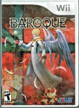 Baroque (Nintendo Wii, 2008) - $12.82