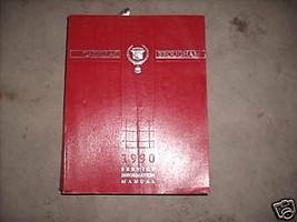 1990 Cadillac Brougham Servizio Officina Riparazione Negozio Manuale OEM... - $21.04