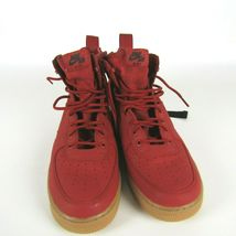 Nike SF AF1 Mid Dune Red Black Shoes Size 11 Men 917753 600 Air Force 1 Sneakers image 3