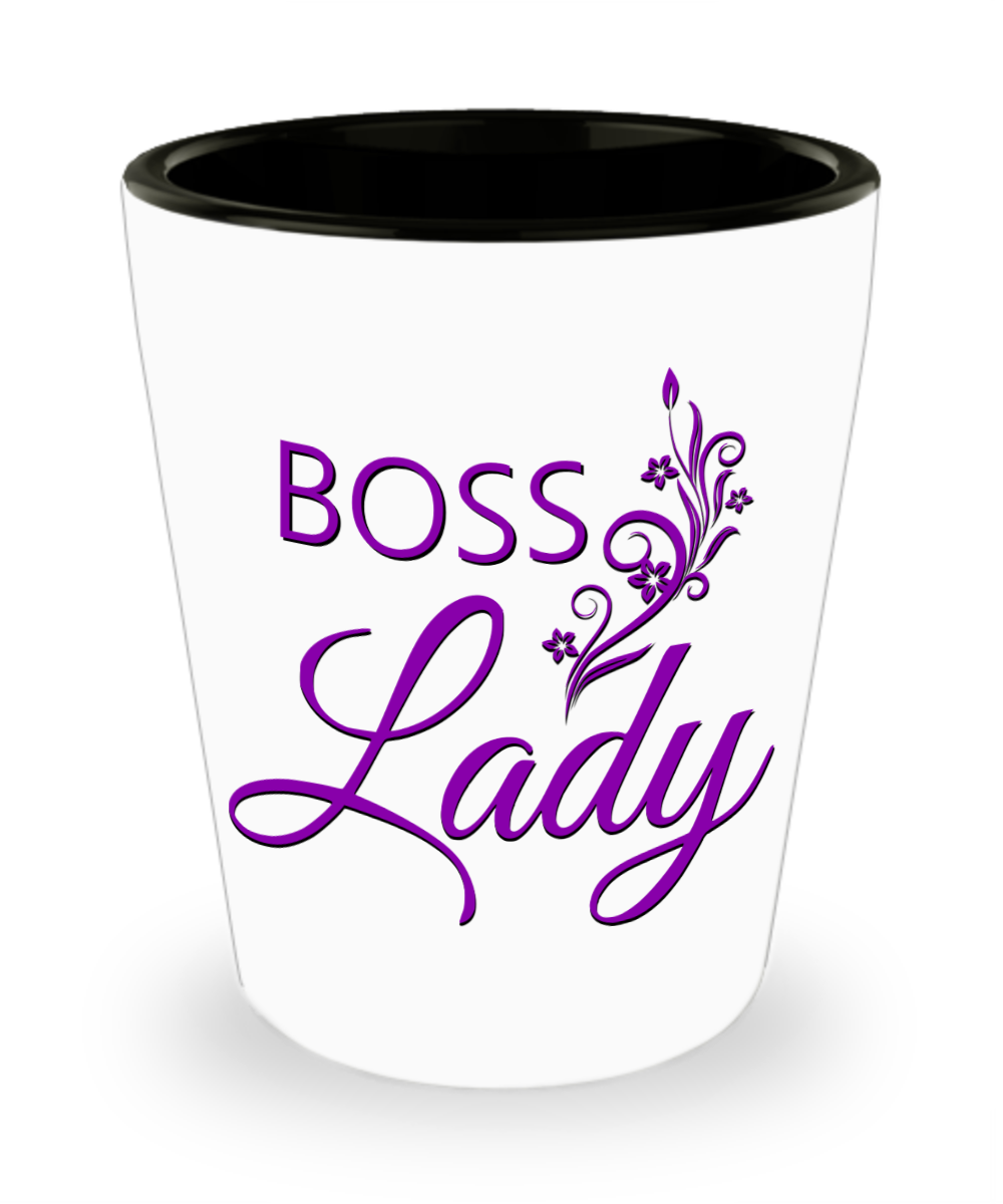 Boss Lady Shot Glass