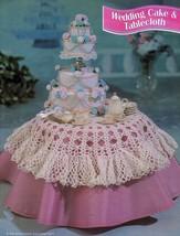 "4X Barbie 11-1/2"" Doll Victorian Bride Wedding Gown Cake Veil Crochet Pattern image 4"