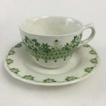 Excellent Vintage Killarney Nikko Ceramics Tea Cup & Saucer - $15.00
