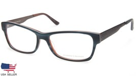 NEW PRODESIGN DENMARK 1728 9034 SEMI BLUE EYEGLASSES FRAME 55-16-140 B35... - $78.20