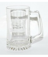 Molson 1786 - 1986  200 Ans d'Excellence Beer Clear Glass Mug Collectibl... - $11.88