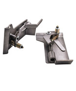 Universal Weld-On Skid Steer Pair of Conversion Adapter Quick Tach Latch... - $143.75