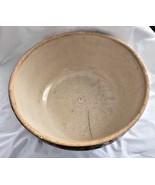"Ruckel's Pottery Stoneware Crock Mixing Bowl 10"" - $16.82"