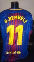 Dembele hand signed Barcelona shirt 17-18 with Coa  - $300.00